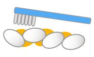 部分矯正治療 治療前 歯並び